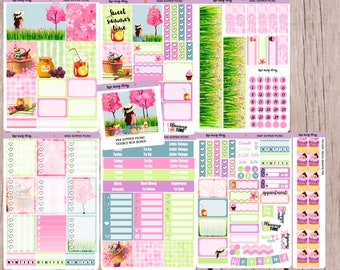 6f26c93ff2a4 SUMMER PICNIC Planner Sticker Kit