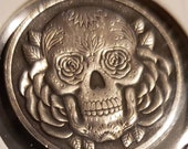 Hobo Nickel 1937 D 3 legged Buffalo Nickel restrike