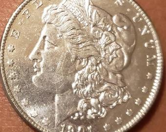 Silver dollar | Etsy
