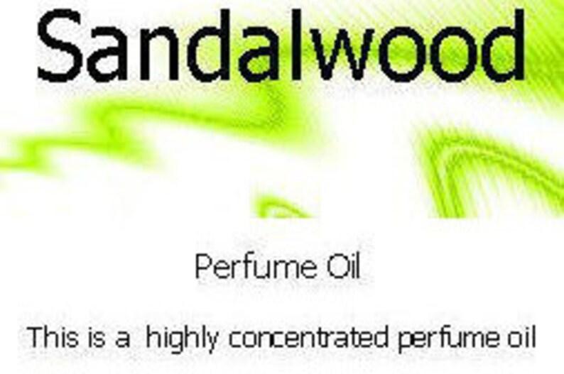 Sandalwood Perfume Oil - 25ml