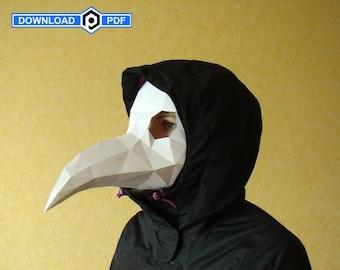 Raven Mask Etsy
