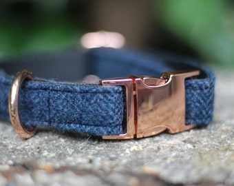 Rose Gold Collar - Available in all wool options, 100% Pure Wool