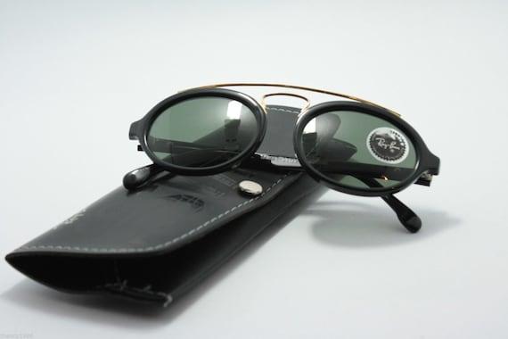 685f6df39a Rayban B L Oval USA Scratchfree lenses vintage NOS Gatsby