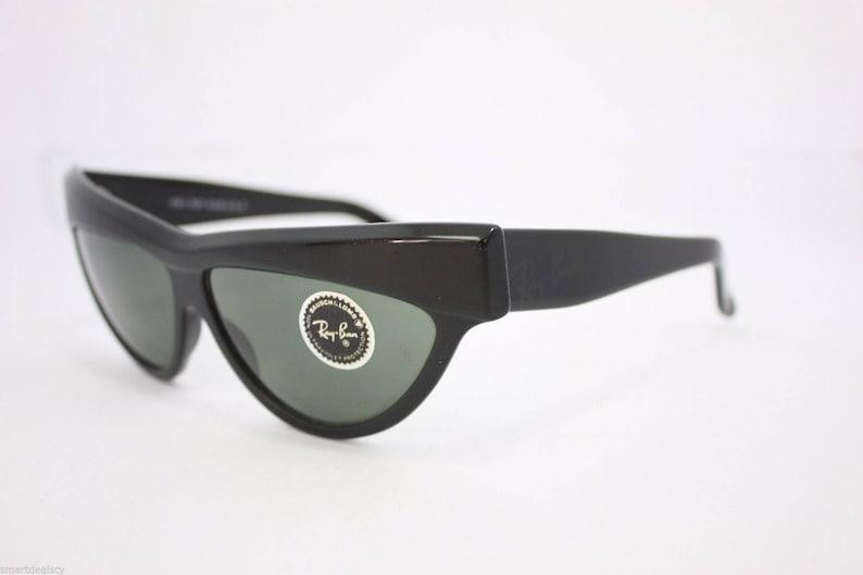 1a9b8c865a4b9 Rayban Onyx B L Vintage WO807 G15 Black ONYX Ladies Sunglasses