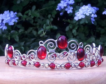 Queen of Hearts Grand Tiara