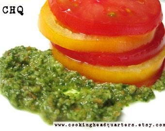 Easy Basil Pesto Recipe Homemade Sauces Italian Cooking Handmade Dips Fresh Spreads