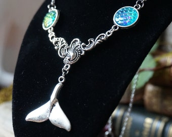 """Necklace """"Whale Tail"""""""