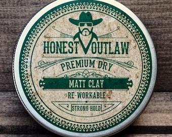Premium Dry Matt Clay