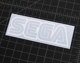 "SEGA Logo 4""x1.3"" Vinyl Decal"