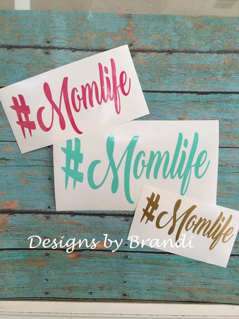 momlife decal momlife car decal momlife mom life. Black Bedroom Furniture Sets. Home Design Ideas
