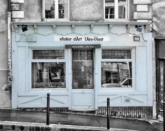 Galerie Vire-Vent - Window Shopping - Store Front - Paris - France - Photo - Print