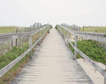 Pathway to the Beach - Ogunquit Beach - Ogunquit - Maine - USA - Photo - Print