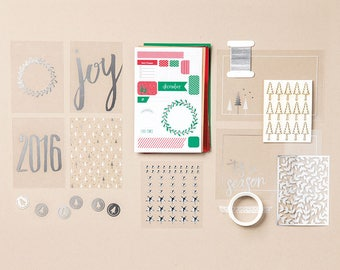 Stampin Up! Hello December 2016 Project Life Accessory Pack