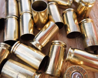 Mixed 9 mm empty pistol brass various manufacturers/9mm brass/pistol brass (25 size lot)