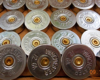 Winchester 12 gauge shotgun shell head stamps (50 size lot).