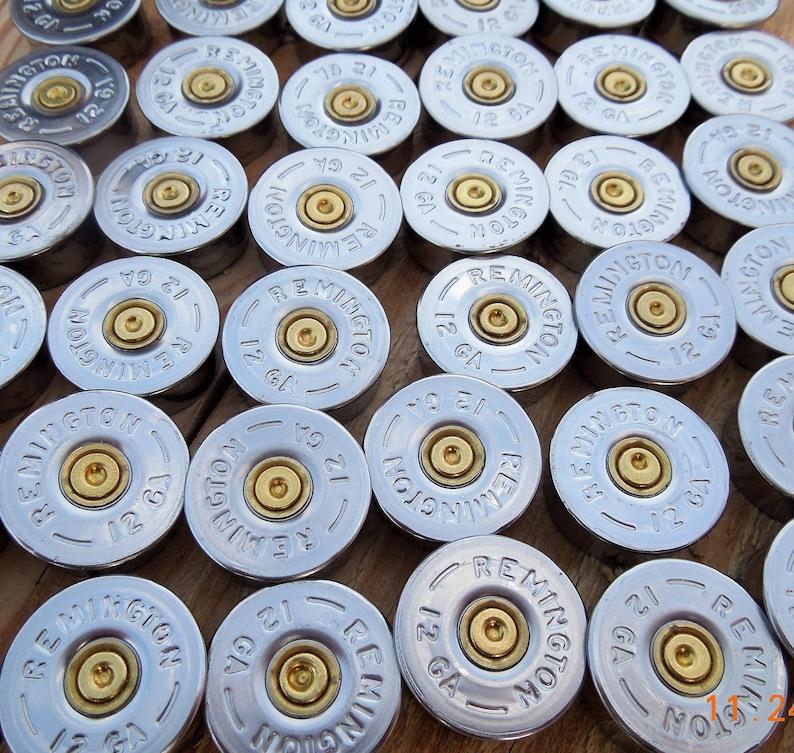 50 COUNT!!! Remington 12 gauge shotgun shell head stamps/shotgun end  caps/bullet endcaps/ shotgun headstamps (50 size lot)