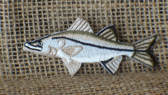 FISH IRON ON PATCH APPLIQUE