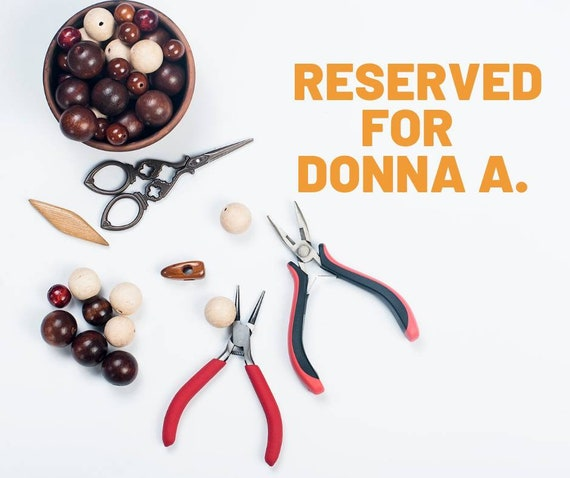 Reserved for Donna Adair