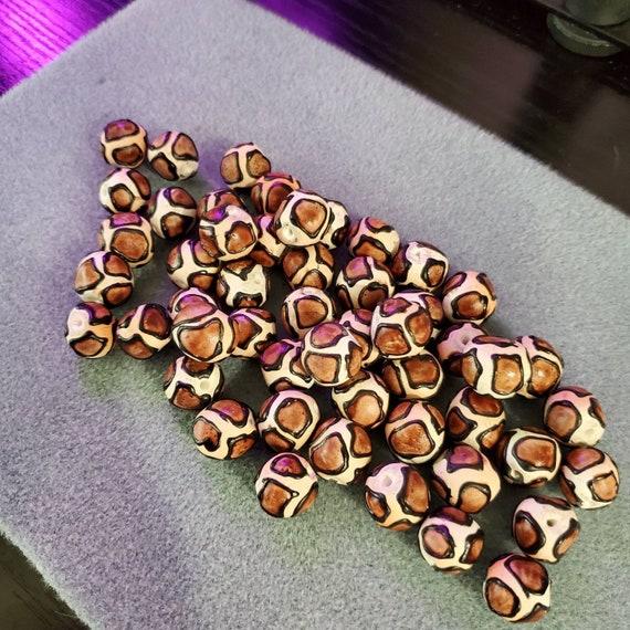 Handmade Clay Giraffe beads