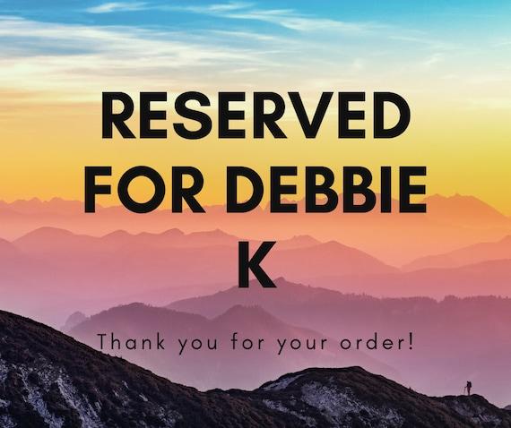 RESERVED FOR Debbie Kerns