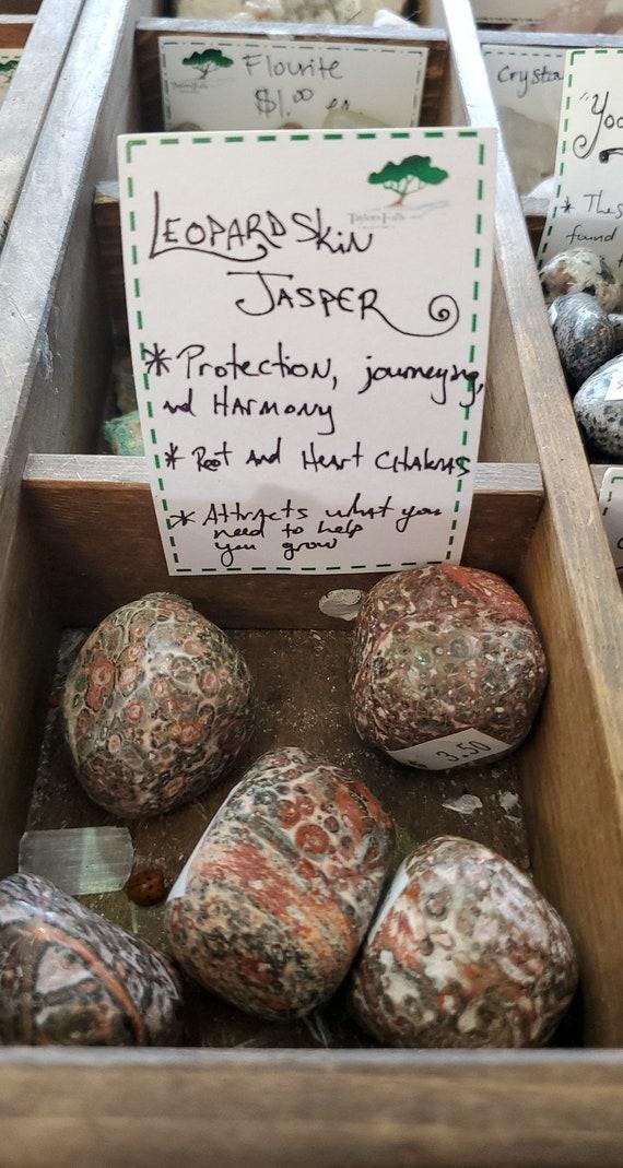 Leopard Jasper Stones from Taylors Falls Bead Store