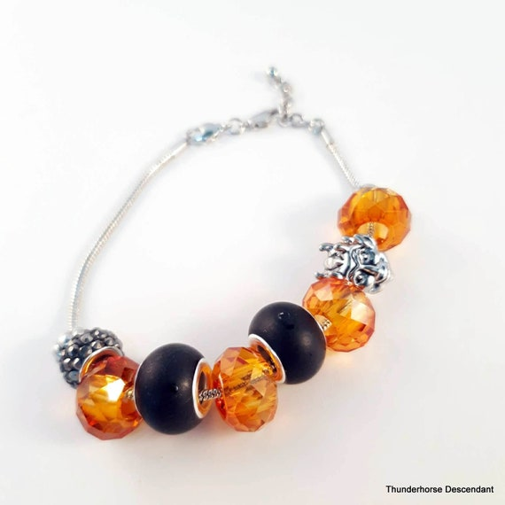 Size Large Halloween Collection Interchangeable European Bracelet with Free Gift