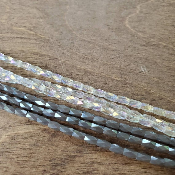Crystal strands from Taylor falls bead store