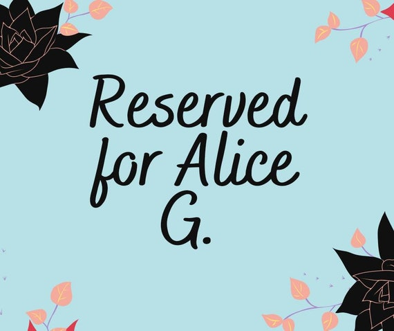 Reserved for Alice G. 1 teal coffee Tumbler 20 oz