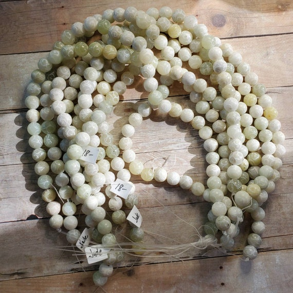 Carved Jade Beads from Taylors Falls Bead Store