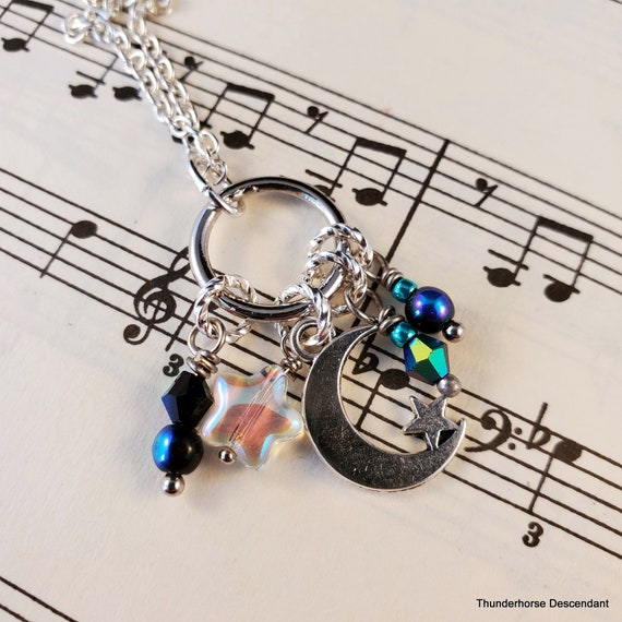 Charming Moon Necklace