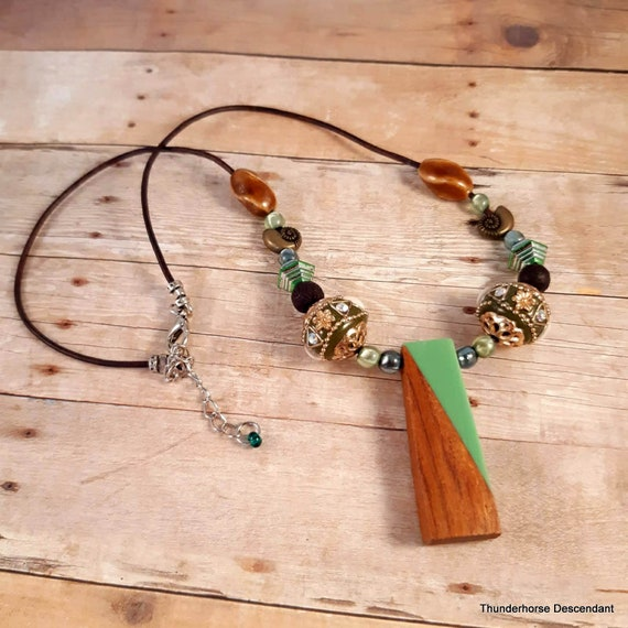 Kauai Island Leather Necklace