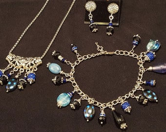 Neptune Necklace, Bracelet, and Earring Set
