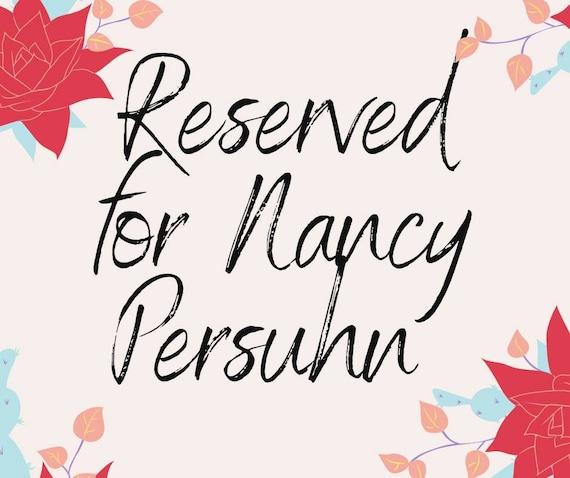 RESERVED FOR Nancy Persuhn