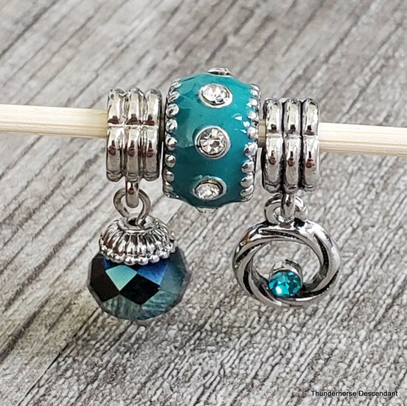 Under The Sea Collection Add On Beads for Interchangeable European Bracelet
