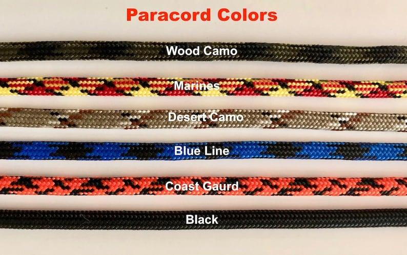 2 MIL 1 Decal ......Desert Camo SPEC 550 Paracord ...6/' Boot Laces ...
