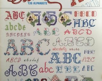 Alphabets Galore Book (Vintage)