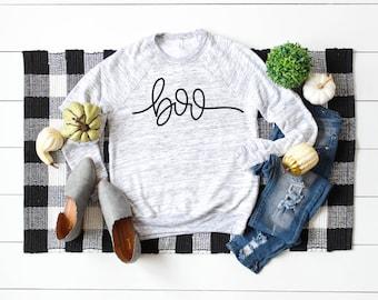 a3413d75673 Boo sweatshirt - Halloween sweatshirt - Halloween Apparel - Fall Apparel -  Boo - Unisex sweatshirt - Women s Apparel - Basic Witch