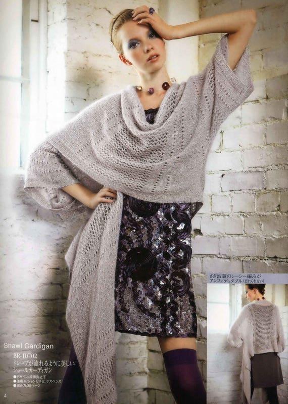 Knit poncho Knitting Patterns Knit Sweater Patterns | Etsy