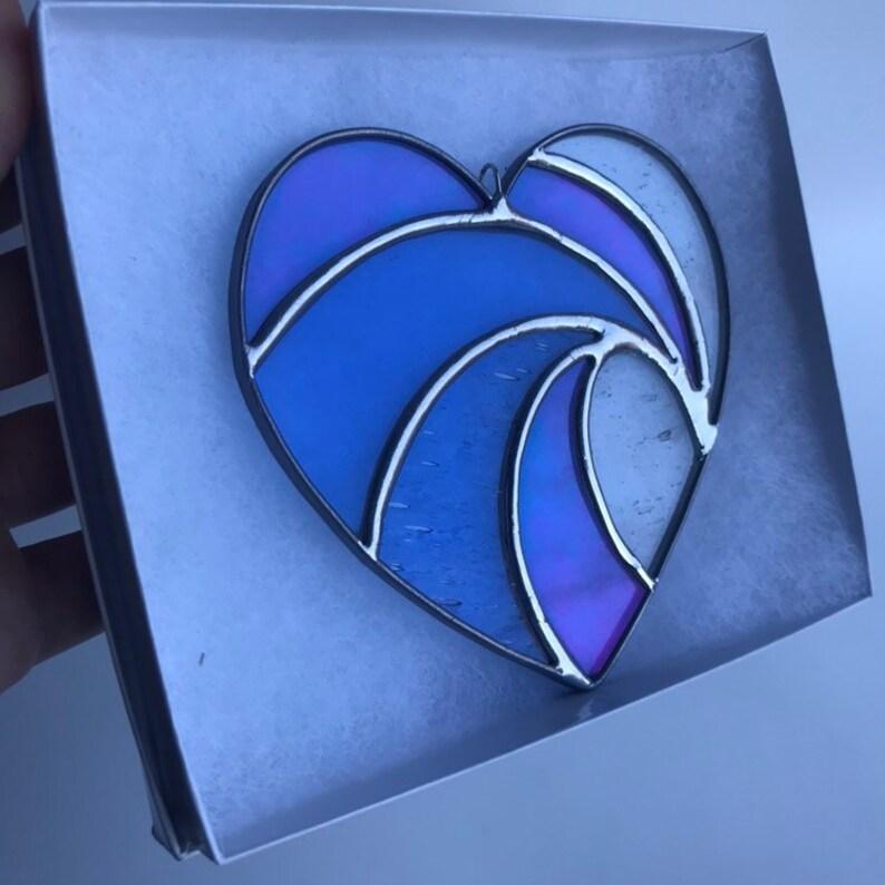 Handmade Crashing Wave Heart