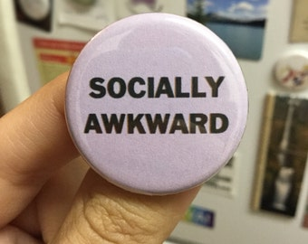 Socially awkward button / Social anxiety button