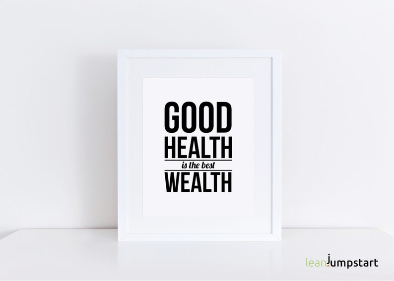 Health Wall Art Health Quote Quotes Health Health image 0