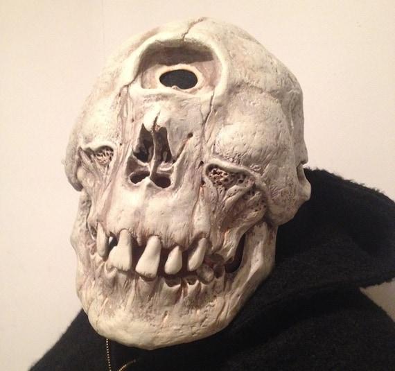 Zyklopen Maske Schädel-Skulptur fantastische Fabelwesen | Etsy
