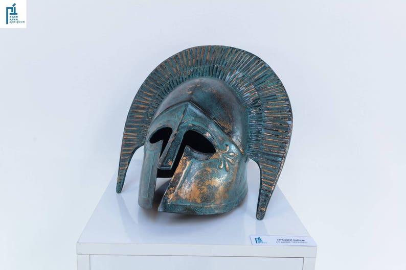 Ancient Greek Helmet Mask Helmet Props Hercules Ancient Armor Etsy