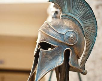 Greek Helmet Ancient Corinthian Helmet Greek Spartan Helmet Ancient Greece Armor Helmet Larp Helmet Cosplay Helmet Greece Antique Armor Mask