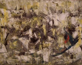 Original Abstract Oil Painting 80cm x 120cm Canvas