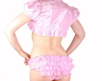 Ladies frilly lingerie