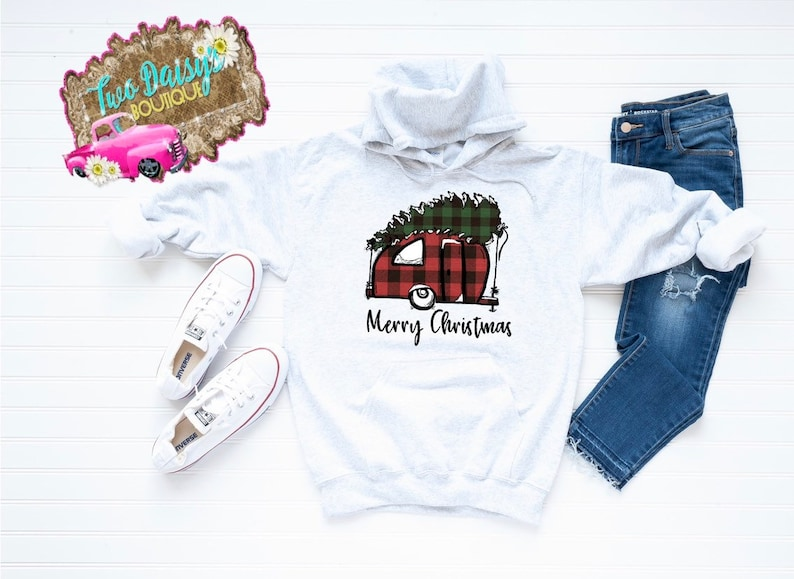 Merry Christmas shirt Christmas camper shirt custom holiday shirt