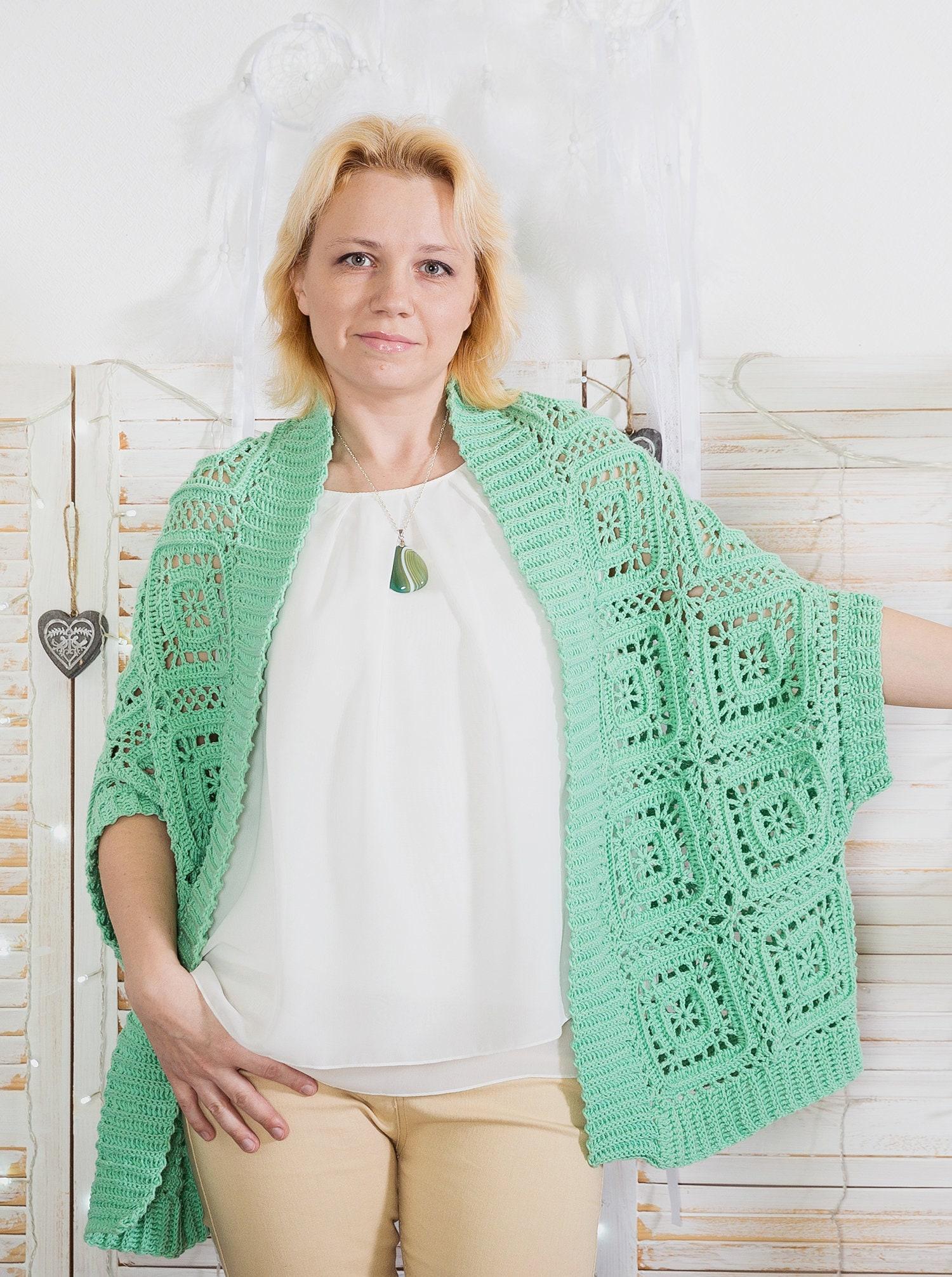 Crochet Cardigan Pattern Trapeze Cardigan Crochet Tutorial Etsy