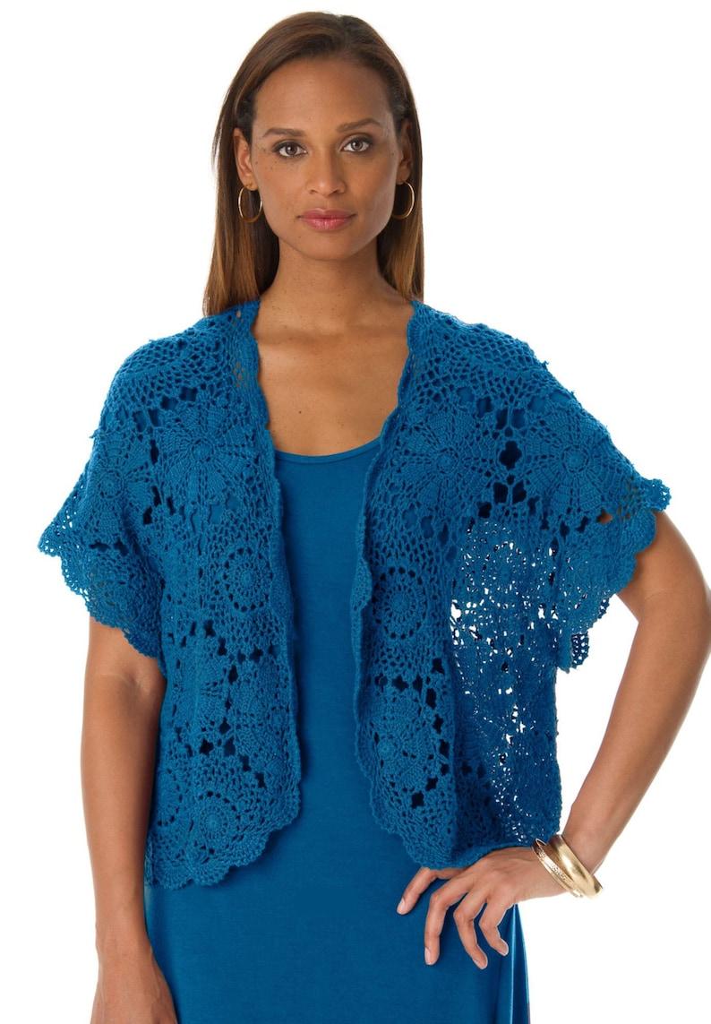 Crochet Shrug Pattern Trendy Shrug Pattern Detailed Etsy