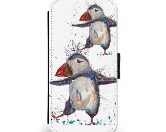 Puffin phone case | Etsy